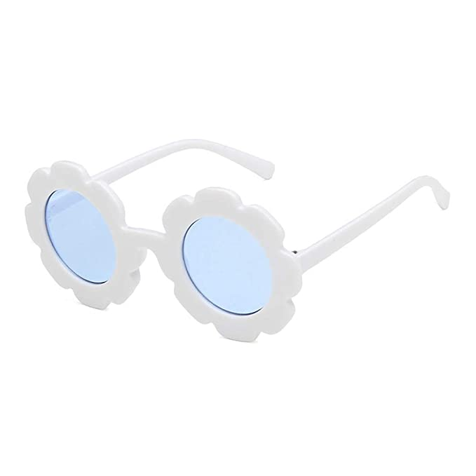 Mxssi Vintage Kids Gafas de sol Gafas de sol infantiles Flor ...
