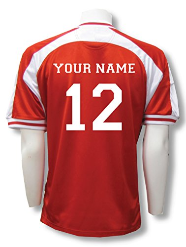 Spitfire soccer goalie jersey with your name and