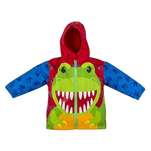 Stephen Joseph Rain Coat, Dino, 2T