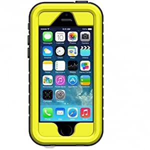 Waterproof Shock Snow Dirt Proof Case Cover Skin For iPhone 4 4S 5C --- Color:Yellow