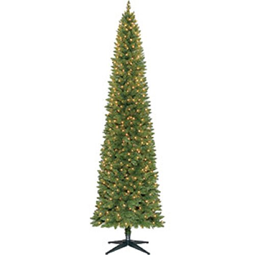 9 Ft. Pre-Lit Slim Brinkley Pine Tree