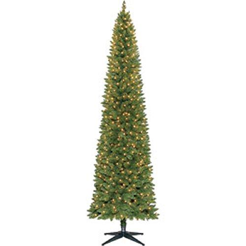 9 Ft. Pre-Lit Slim Brinkley Pine Tree