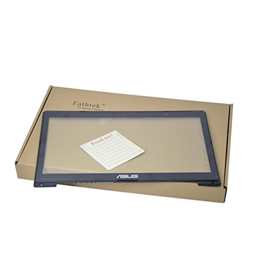 Eathtek Replacement Laptop Digitizer Touch Screen Glass with Bezel for Asus Vivobook S400 S400CA S400C 14