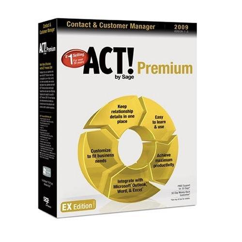 ACT! by Sage Premium 2009 (11.0) Upgrade