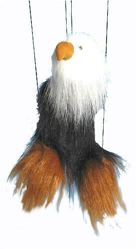 GLOBEE 써니 장난감 16 틴에이저 검은 대머리 독수리 마리오네트