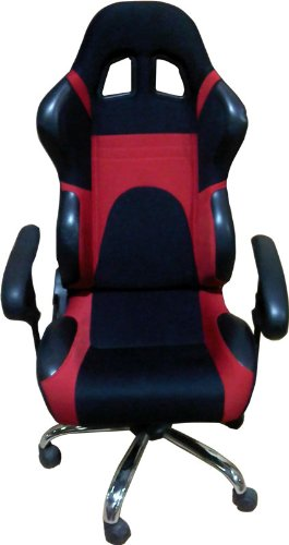 Computer Office Racing Bucket Seat Chair Red and BlackComputer Office Racing Bucket Seat Chair Red and Black  Amazon co  . Racing Seat Office Chair Uk. Home Design Ideas