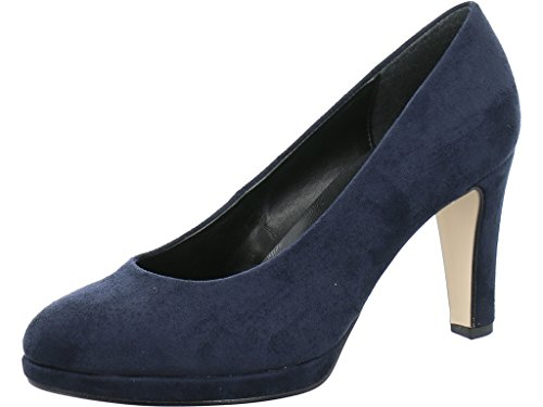 Gabor Damen Pompes Mode Blau