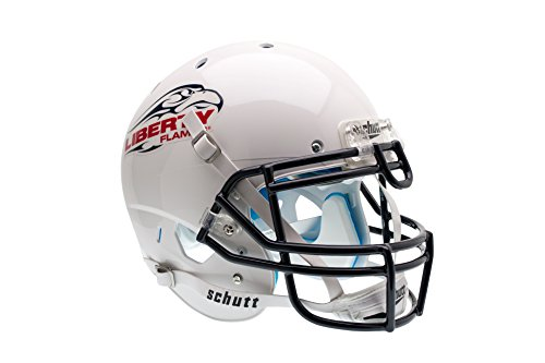 NCAA Liberty Flames University Authentic Helmet, One Size by Schutt