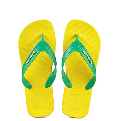 de de Plage d'été Pantoufles de Classiques antidérapantes Green Loisirs Light Souples antidérapantes Bascules nYa8Zqg