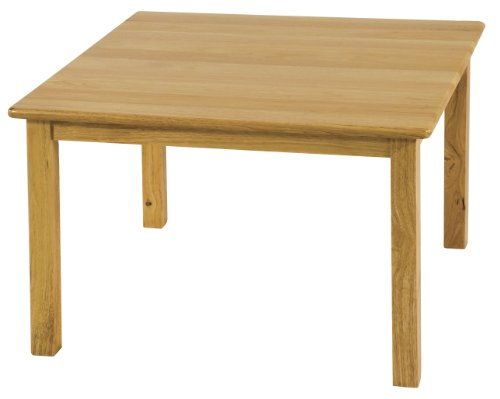 ECR4Kids 30'' Square Deluxe Hardwood Activity Table, 22''H by ECR4Kids