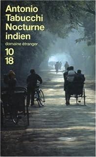 Nocturne indien, Tabucchi, Antonio
