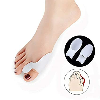 Conjunto de dos separadores de gel para dedos del pie (prevención del dolor
