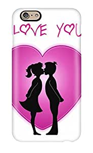 Anti-scratch Case Cover Protective I Love You 3 Case For Iphone 6