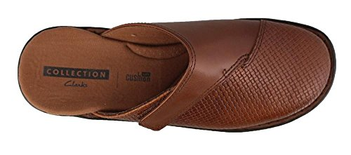 CLARKS Womens Patty Tayna I Mule Dark Tan 82OS5Tjl