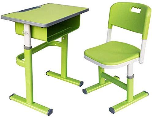 Oanzryybz Tablas Escritorio del Estudiante y Juego de sillas de ...