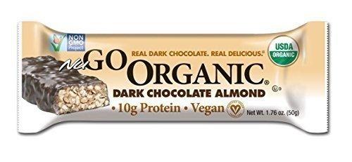 Nugo Dark Chocolate Almond Bar, 1.7-Ounce (Value Bulk Multi-Pack)