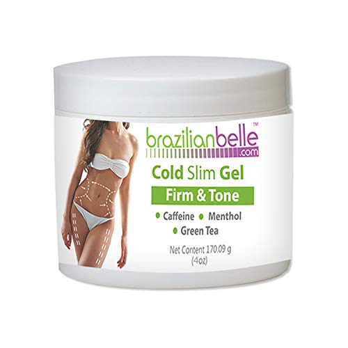 Body Sculpting Gel (Cellulite Cold Slimming Gel with Caffeine and Green Tea Extract- Reduce Appearance of Cellulite, Stretch Marks, Firming and Toning, Improves Circulation - Quick Absorption- Cryo Gel)