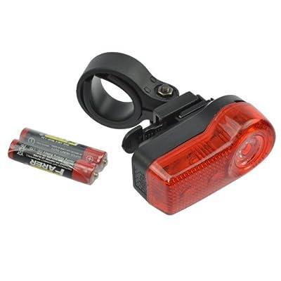 Éclairage de vélo Éclairage arrière 3LED Rouge Deluxe