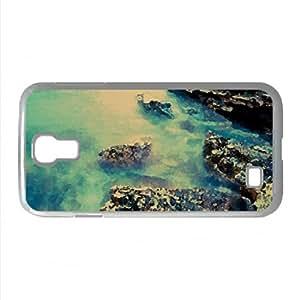 Rocky Beach 32 Watercolor style Cover Samsung Galaxy S4 I9500 Case (Beach Watercolor style Cover Samsung Galaxy S4 I9500 Case)