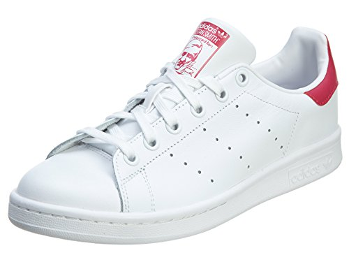 innovative design 8820a af6a4 Adidas Stan Smith J Big Kids Style: B32703-Wht/Wht/Pink Size: 5.5 Y US