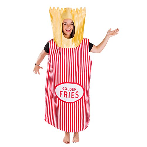 Bodysocks Adult French Fries Fancy Dress -