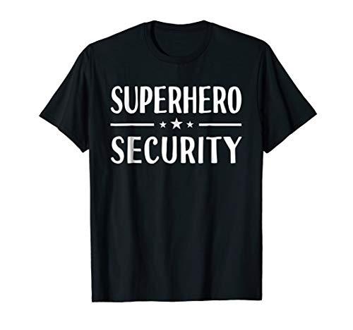 Superhero Security T-Shirt Halloween Costume Idea Funny Gift for $<!--$14.99-->