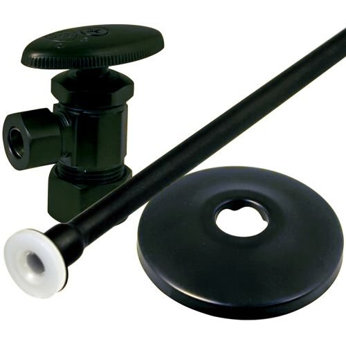 Monogram Brass MB-SVLV-250 Decorative Toilet Supply Kit, Oil Rubbed Bronze (Oil Supply Kit)