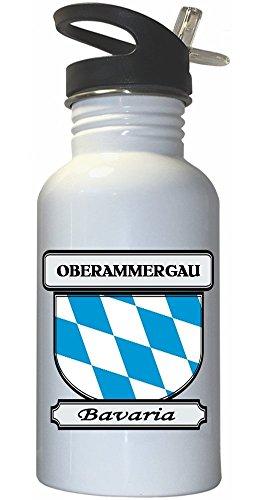 oberammergau-bavaria-city-white-stainless-steel-water-bottle-straw-top