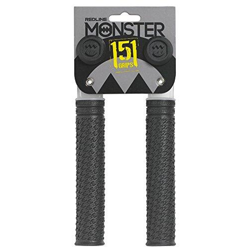 REDLINE« Redline Monster 151 Flangeless Grips 151mm w/Plugs Black