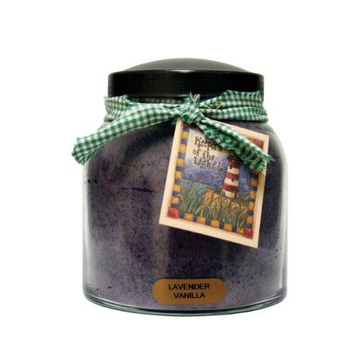 A Cheerful Giver Lavender Vanilla Papa Jar Candle, 34-Ounce