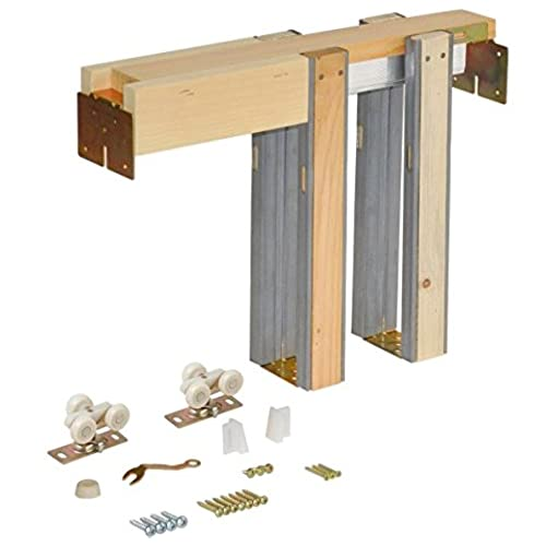 Johnson Hardware 1500 Series Pocket Door Frame Kit (28  x 80 )  sc 1 st  Amazon.com & JOHNSON Door Hardware Kit: Amazon.com