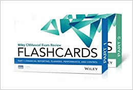 Wiley CMAexcel Exam Review 2016 Flashcards: Complete Set by IMA (2015-07-27)