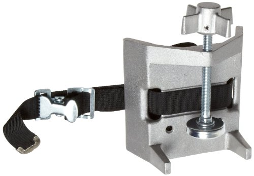 Talboys 711 Aluminum Cylinder Bench Clamp with Strap, 3.25