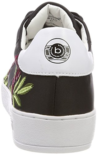 Bugatti Ladies 421291056950 Sneaker Nero (nero / Multicolore)