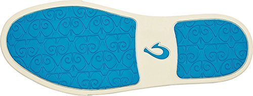 Slip Donna Olukai, Slip On Shoes, Blu Chiaro / Blu Vivo, 9,5 B (m) Noi