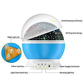 LED Night Lighting Lamp - diagram