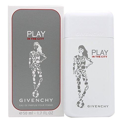 Givenchy Play In The City Eau de Parfum Spray for Women, 1.7 Ounce