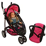 Mommy and me 2 in 1 Doll stroller / Carrier with FREE carriage bag