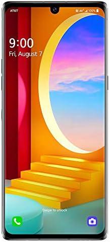 "LG Velvet 5G G900UM 128GB AT&T GSM Unlocked Phone 6.8"" - NO CDMA (Silver) WeeklyReviewer"