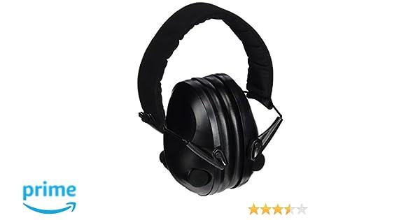 Mil-Tec Outdoor Products - Auriculares para protección acústica Activos, Color Negro: Amazon.es: Deportes y aire libre