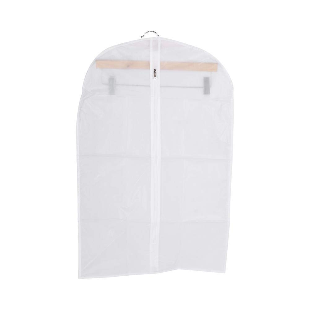 Eboxer Garment Bag Clear, Dust Bags Cover Dust-Proof for Clothes Storage Suits Dress Breathable Cover,3 Sizes(4570CM(S))