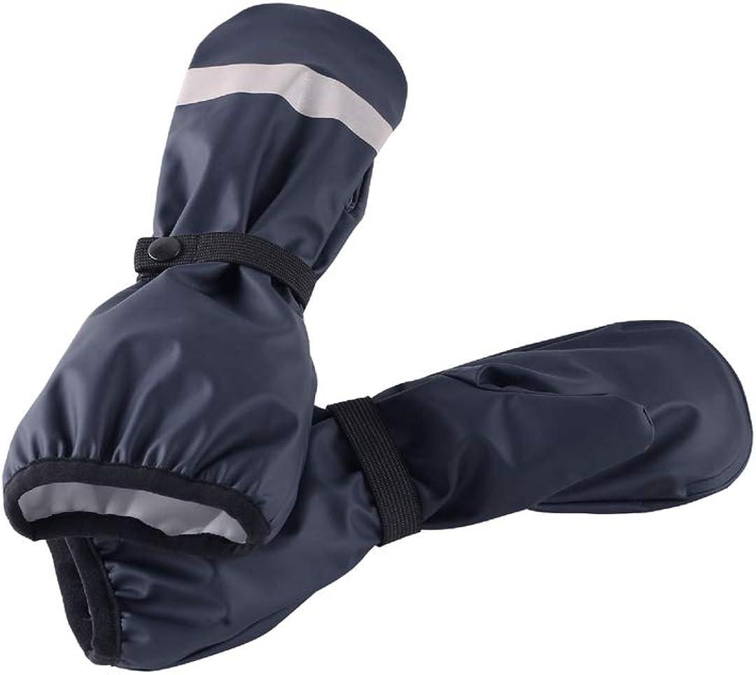 Reima Puro Waterproof Knit Lined Elastic Rain Mitten for Kids