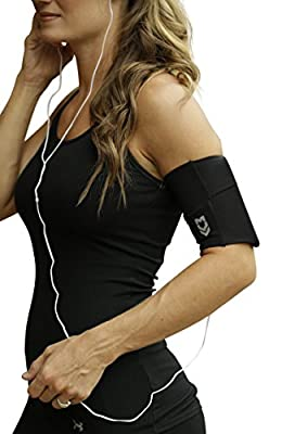 """MÜV365 Ultimate Comfort Sports Running Armband Belt for iPhone X/8/7/7 Plus/6/6s/XR/XS/Max, Samsung Galaxy S9/S8/S7/Plus and All Smartphone Models with Case Up to 7"""""""