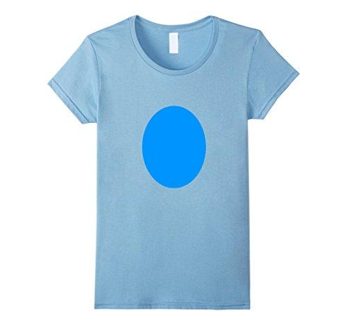 Womens Halloween Costume Christmas Blue Bird DIY T-shirt XL Baby Blue