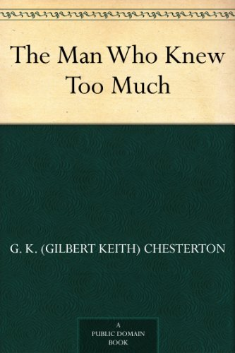 #freebooks – The Man Who Knew Too Much