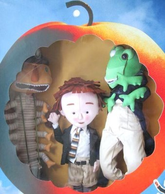 James and the Giant Peach PLUSH BOX SET by Disney