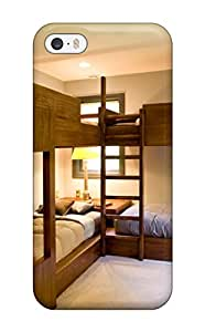 Iphone 5/5s Case, Premium Protective Case With Awesome Look - Kids8217 Room With Bunk Beds For Four Children And Neutral Carpet