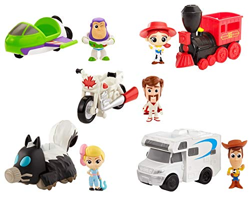 Disney Pixar Toy Story 4 Minis with Vehicle Assortment