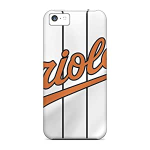 Awesome KFUOi4470lddlL EOV Defender Tpu Hard Case Cover For Iphone 5c- Baltimore Orioles