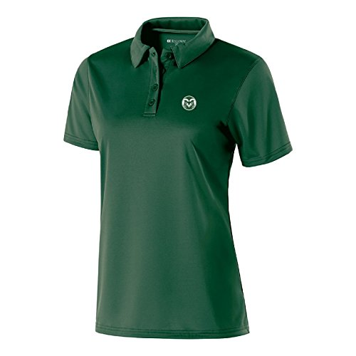 NCAA Colorado State Rams Women's Shift Polo, Large, (Rams Performance Team Polo)